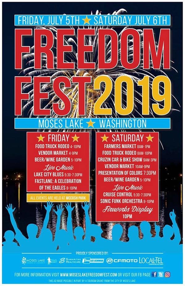 Moses Lake Freedomfest 2019